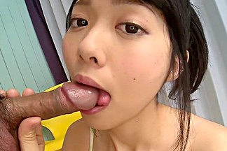 Hottest Japanese whore Hikaru Morikawa in Fabulous JAV uncensored Blowjob scene