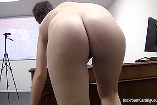 Short-haired gal let me fuck her ass