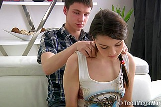 Beautiful teen fucked in several positions