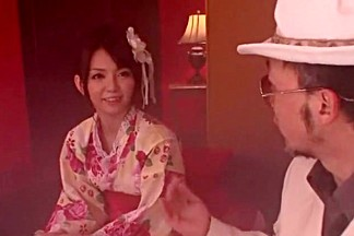 Horny Japanese slut Mayu Nozomi in Crazy JAV movie