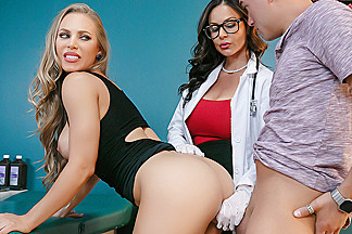 Kendra Lust & Nicole Aniston & Xander Corvus in Doc Were Stuck - Brazzers