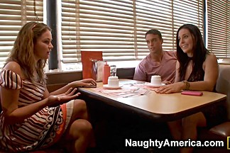 Allie Haze & Gracie Glam & Rocco Reed & Seth Gamble in Naughty Rich Girls