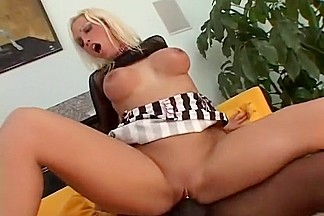 Fabulous pornstar Nicki Hunter in horny interracial, anal porn scene