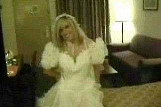 Hard fuck on wedding night is a fetish dream for unengaged couple
