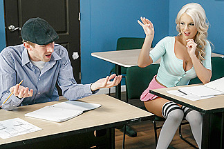 Kenzie Taylor & Danny D in Detention - Brazzers
