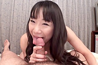 Fabulous Japanese model Miho Wakabayashi in Incredible JAV uncensored Blowjob video