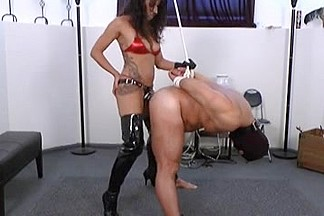 She fucks him with his own cum