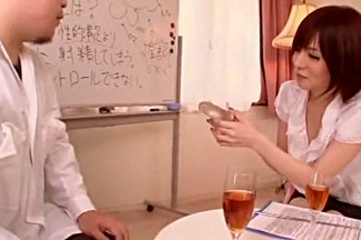 Incredible Japanese chick Yuria Satomi in Crazy Handjobs, Face Sitting JAV video