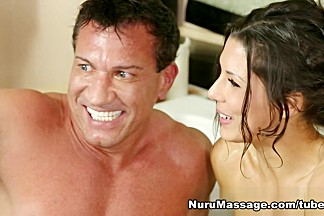 Jillian Janson, Alexa Tomas, Marco Banderas in Rub Us Both Scene