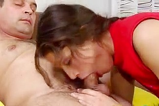 old man youthful girl - Hot Kate with old beast