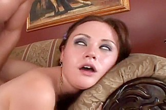 Petite Slut Plays With Huge Cock