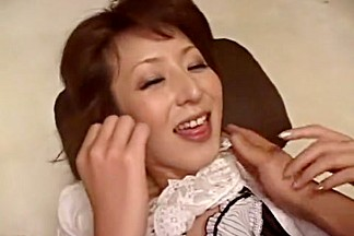 Fabulous Japanese slut Ren Serizawa in Hottest Doggy Style JAV movie