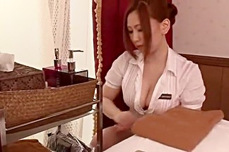 Exotic Japanese slut Ai Sayama in Best Massage JAV scene
