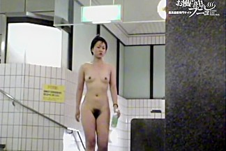 Asian girls with the nude hairy cunts in the shower video dvd 03064