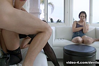 Sheena Ryder & Nickey Huntsman & Chad Alva in My Wife Caught Me Ass Fucking Her Mother #10 - DevilsFilm