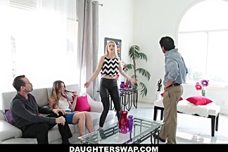 DaughterSwap- Dutch Teen Fucked After Mardis-Gras
