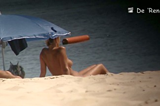 Beach voyeur spy cam catches hot footage of sexy naked girls.