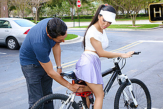 Emily Mena in Itty-Bitty Bicyclist - ExxxtraSmall