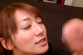 Saki Kouzai hot milf gives happy ending massage