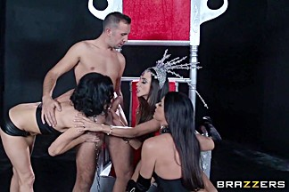 Milfs Like it Big: Ep-1: Are You Afraid of the Dick?. Ariella Ferrera, India Summer, Veronica Avluv, Johnny Sins, Keiran Lee