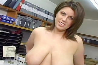 Huge Titted MILF Sucks Cum Out Of Dick
