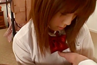 Hottest Japanese whore Azumi Harusaki in Crazy College/Gakuseifuku, POV JAV clip