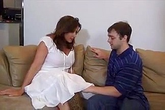 Not mom not son taboo with pantyhose  nylon  stockings