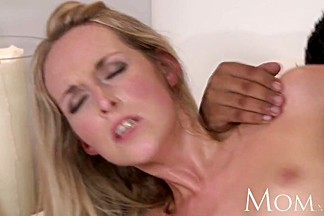 MOM Slender mature blonde likes it hard and rough