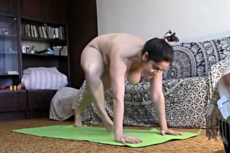 Naked Yoga Routine