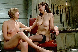 Maitresse Madeline PUNISHED and FUCKED and hazed in as director of Whipped Ass by Princess Donna