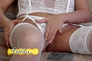Hot Masturbation Scene In Lingerie
