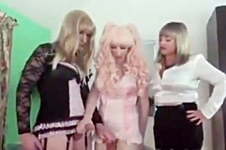 Dom training two sissy s