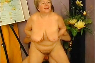 big beautiful woman Granny Teacher Bonks Student