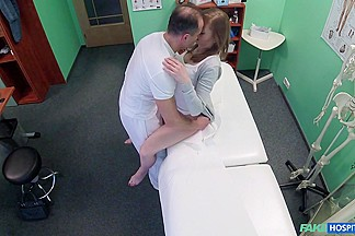 Luca in Doctor Creampies Sexy Tight Pussy - FakeHospital