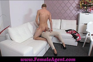 Unsuspecting stud dominated into casting pegging session