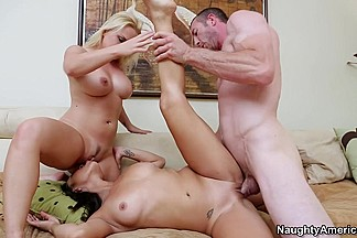 Adrianna Luna & Katja Kassin & Jordan Ash in 2 Chicks Same Time