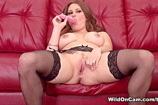 Exotic pornstar Allison Moore in Crazy Redhead, Masturbation porn scene