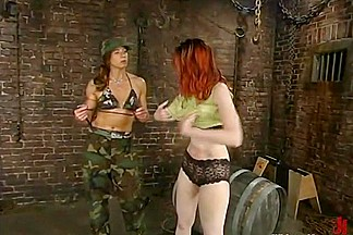 Kendra James and Kym Wilde in Whippedass Video