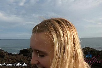 Peyton Coast in Virtual Vacation Movie - ATKGirlfriends