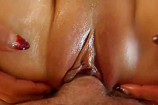 Sloppy blowjob, oil titfuck and more