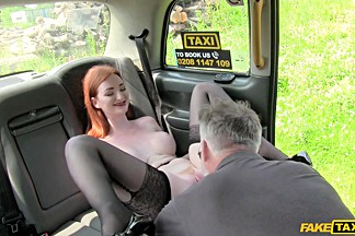 James & Jessica Beil in Model Learns the Perfect Blowjob - FakeTaxi