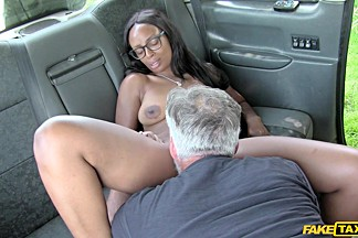 Karol Lilien & Thomas Hyka in Thick Cock Stretches Shaven Pussy - FakeTaxi