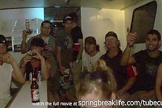 SpringBreakLife Video: Drunk College Girl Party