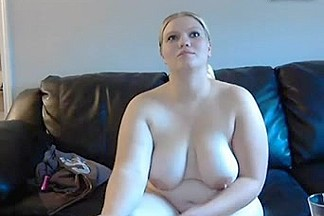 fat wife acquires spanked and masturbates on web camera