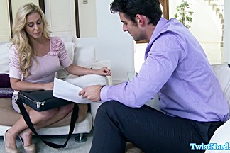 Realtor Cherie Deville fucks for commision