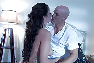 Crazy pornstar Alison Tyler in exotic blowjob, tattoos sex video