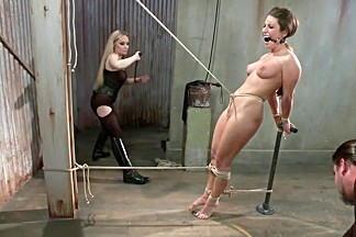 Bratty Whore Experiences Brutal Suffering-Live Show Edited